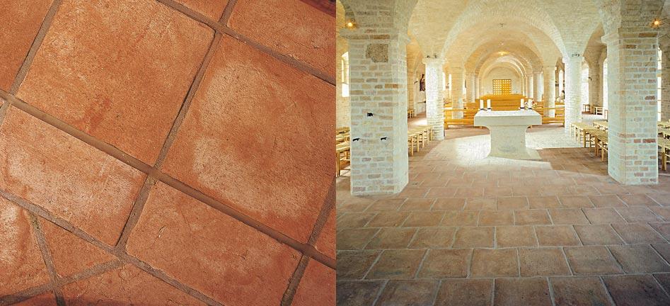 Sannini facciate ventilate pareti frangisole e pavimenti - Piastrelle in cotto per interni ...