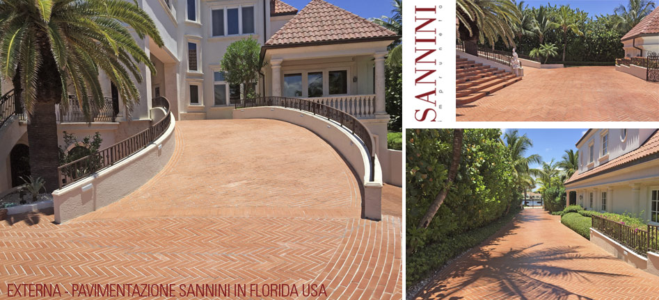 Outdoor flooring by Sannini in Florida - USA