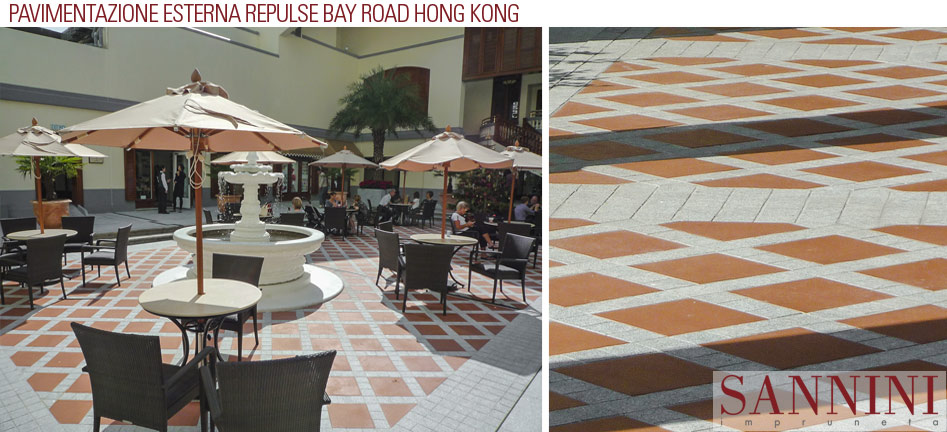 Repulse Bay, Hong Kong - Outdoor flooring