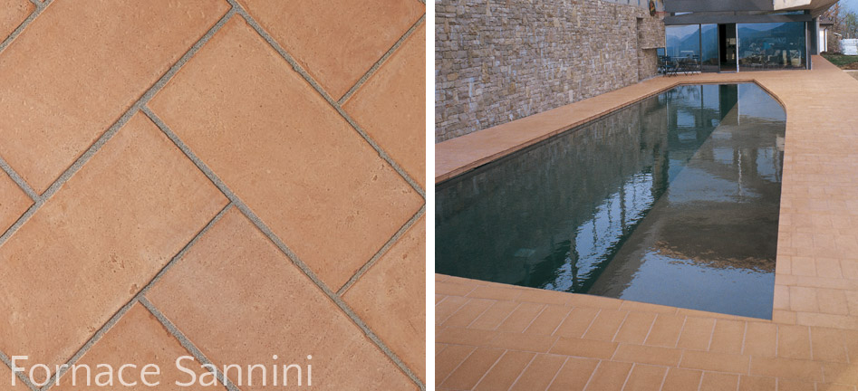 paving indoor and outdoor Fornace Sannini
